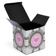 Companion Cube gift box